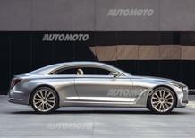 Hyundai Vision G Coupé Concept, immaginare il futuro