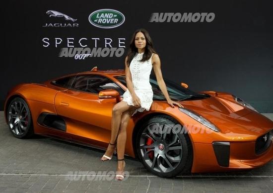 """James Bond """"Spectre"""", ecco le Jaguar e Land Rover sul set"""