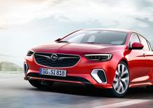 Opel Insignia GSi: 260 CV di puro divertimento
