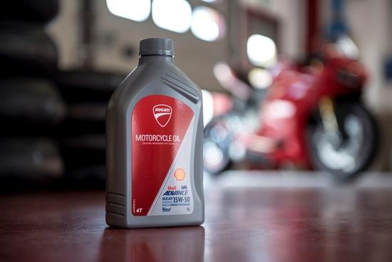 Olio Shell Advance Ducati