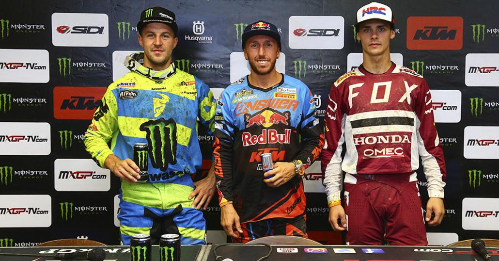 MXGP. Le interviste del GP della Repubblica Ceca