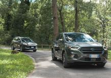 Ford Kuga Restyling vs Ford Kuga 2012: ecco cosa è cambiato