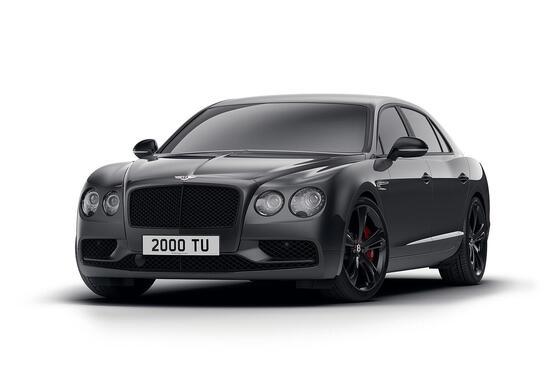 Bentley Flying Spur V8 S: ecco la Black Edition