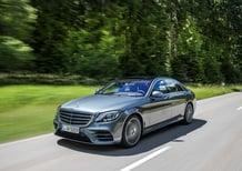 Mercedes Classe S restyling 2017: arrivano i sei cilindri in linea [Video primo test]