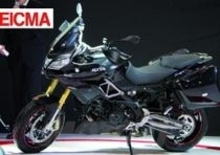 EICMA 2013. Aprilia Caponord 1200 Travel Pack Black