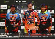 MXGP. Le interviste del GP del Belgio