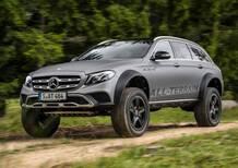Mercedes Classe E All Terrain 4x4², per il fuoristrada estremo
