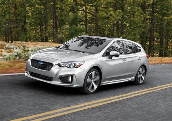 Subaru Impreza, arrivo in Europa per il nuovo modello