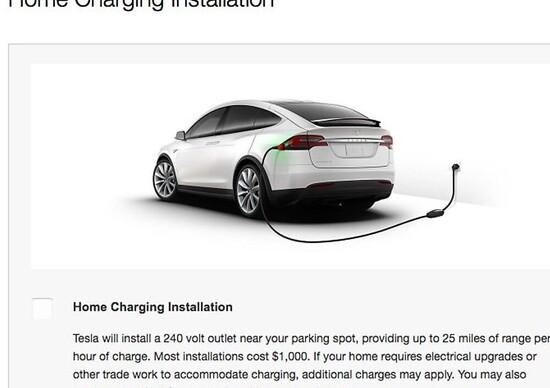 Ricarica Tesla anche in casa con 1000 dollari