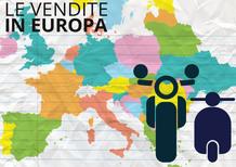 La moto in Europa a -5%. Italia e Francia su, Germania e UK giù