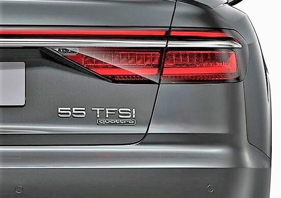 Nomenclatura Audi: basta cilindrata, si va di numero