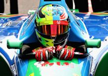 F1, Mick Schumacher a Spa sulla Benetton B194 di papà Michael