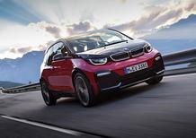BMW i3 restyling, il debutto al Salone di Francoforte 2017