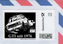Golf GTI, francobollo ad hoc