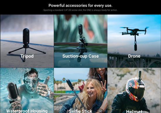 Insta360 One, la action-cam a 360° che registra in 4K