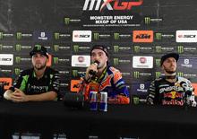 MX 2017. Le interviste dal podio. GP degli USA
