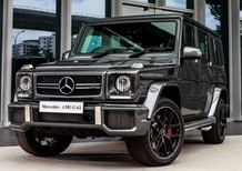 Mercedes G 63 e 65 AMG Exclusive Edition, oltre il top a Francoforte
