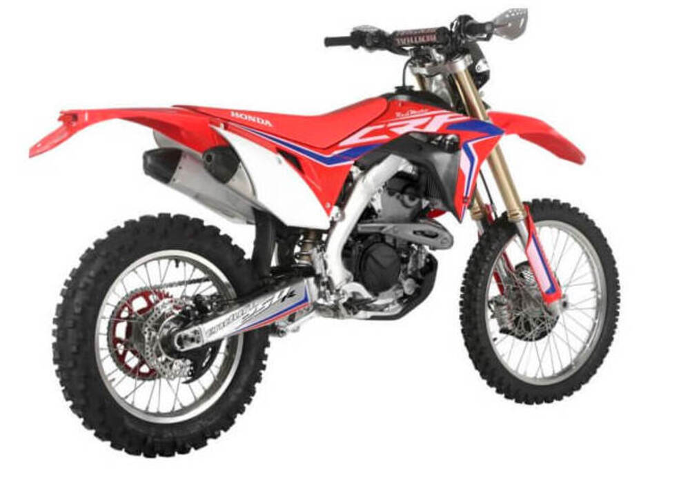 honda crf 250 r enduro 2018 prezzo e scheda tecnica. Black Bedroom Furniture Sets. Home Design Ideas