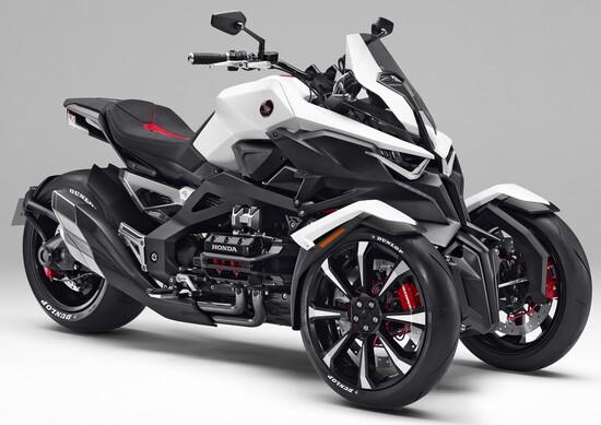 Honda Neowing, rivoluzione a tre ruote