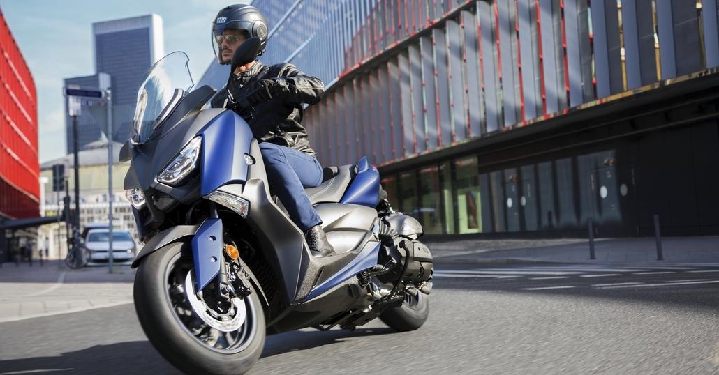 Ride and smile, vinci Yamaha X-MAX 400