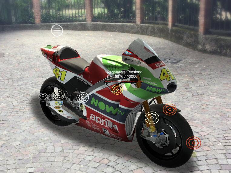 MotoGP. Nel box Aprilia con la realtà aumentata (3)