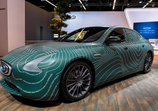 Salone Francoforte 2017: Thunder Power con la sportiva elettrica da 577CV