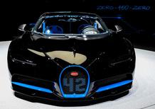 Bugatti Chiron da record: 0-400-0 km/h in 42 secondi [Video]