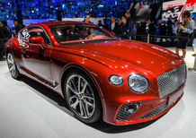 Bentley Continental GT, debutto al Salone di Francoforte 2017 [Video]