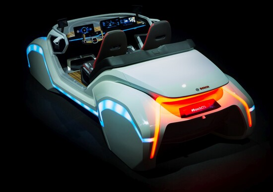 Salone di Francoforte 2017, Tecnologie: Bosch avanza su sicurezza sistemi connessi