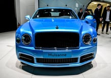 Bentley Mulsanne e Flying Spur by Mulliner a Francoforte [Video]