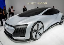 Audi Aicon concept car: il futuro premium dei quattro anelli al Salone di Francoforte 2017 [Video]