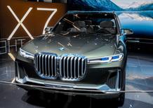 BMW Concept X7 iPerformance al Salone di Francoforte 2017 [Video]