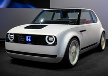 Honda Urban EV Concept al Salone di Francoforte 2017 [Video]