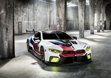 BMW M8 GTE, l'arma per Le Mans al Salone di Francoforte 2017