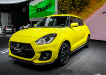 Suzuki Swift Sport al Salone di Francoforte 2017 [Video]