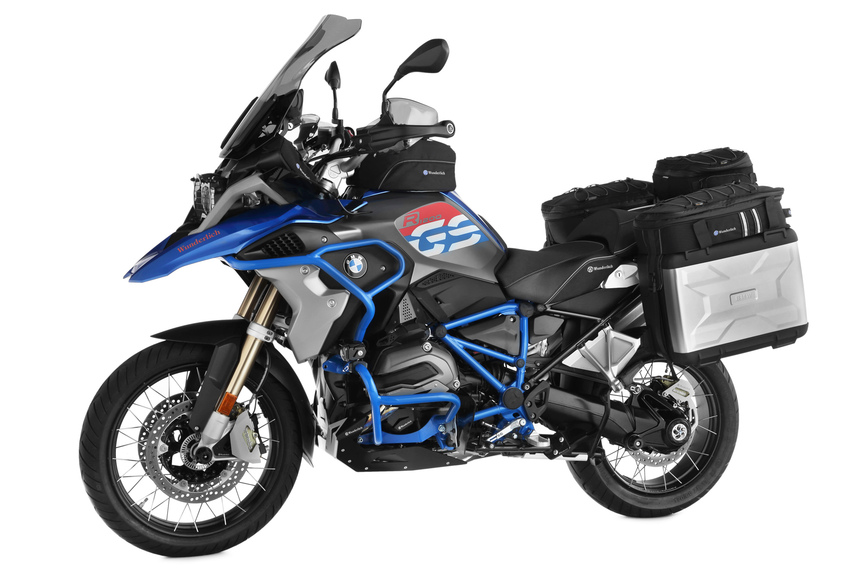 wunderlich un kit per migliorare la bmw r 1200 gs rallye accessori. Black Bedroom Furniture Sets. Home Design Ideas