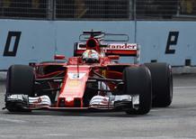 F1, GP Singapore 2017: il cambio di casco di Vettel e le altre news