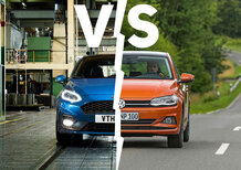 Volkswagen Polo vs. Ford Fiesta | Segmento B a confronto [Video]