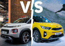 Kia Stonic vs. Citroen C3 Aircross | Sfida crossover [Video]