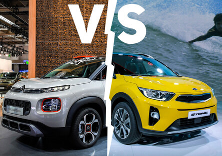 Kia Stonic vs. Citroen C3 Aircross | Sfida crossover [Video]