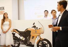 Le BMW G 310R protagoniste delle tesi di laurea di IED Milano