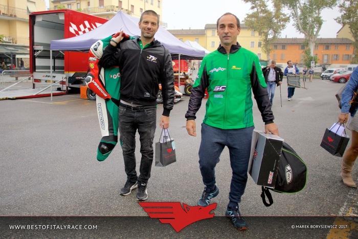 Stefano Bonetti, pilota Paton, e Fabio Campanile di SC Project