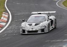 McLaren porta in pista e su strada un nuovo prototipo