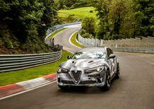 Alfa Romeo Stelvio Quadrifoglio, record al Nurburgring. E' il SUV più veloce [Video]