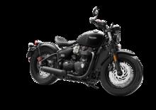 Triumph Bonneville Bobber Black