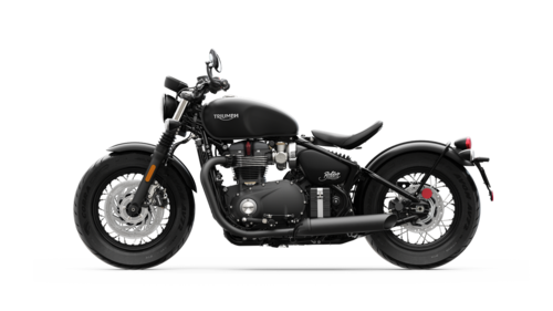 La colorazione Matt Jet Black per la Bonneville Bobber Black