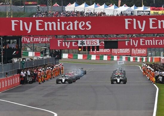 Orari Formula 1 GP Giappone 2017 diretta Sky differita Rai