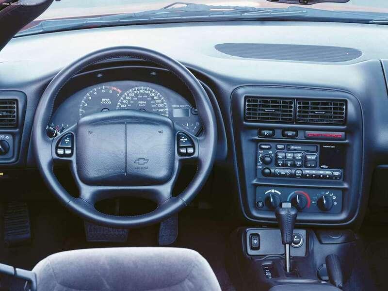 Chevrolet Camaro Cabrio (1998-02) (4)