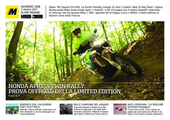 Magazine n° 306, scarica e leggi il meglio di Moto.it