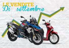 Mercato a settembre buono per le moto (+13%), ma scooter a -6,7%. Le Top 100